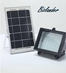 2018 new 5watts 60led solar flood light solar panel commercial led