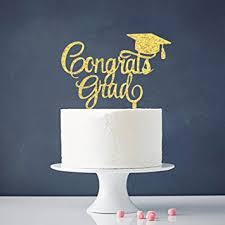 high cake topper congrats grad cake topper class of 2018 graduate
