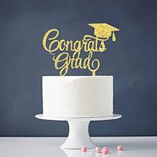 grad party supplies congrats grad cake topper class of 2018 graduate