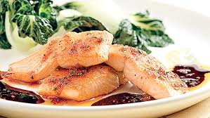 cuisiner du saumon au four saumon érable balsamique rôti au four
