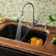 mirabelle kitchen faucets mirxcca100orb calverton pull out spray kitchen faucet rubbed
