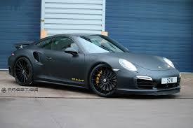 porsche 911 black matte black porsche 911 turbo s x vossen forged vps 305 rennlist
