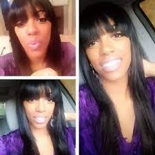porsha stewart hair line stewart shows off her real hair see it now photos