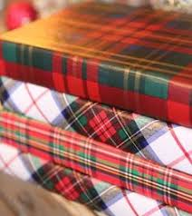 christmas plaid wrapping paper faux bois and plaid christmas wrapping wrap it up