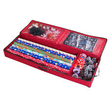 heavy duty christmas wrapping paper stor christmas storage organizer for 30 inch