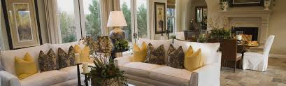 hall custom window treatments with standing lamp and window