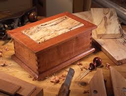 Small Wood Projects Plans by Treasured Wood Jewelry Box Woodworking Projects American