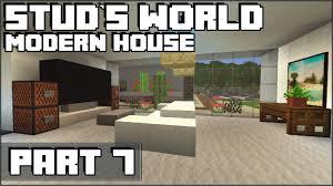 Modern House Furniture Minecraft Cool Minecraft Furniture Stud U0027s World 71 Youtube