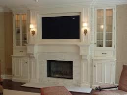 fireplace with tv binhminh decoration