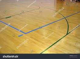 Basketball Court Floor Plan Wooden Basketball Court