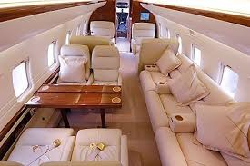 Long Range Jet Jet Charter St Andrews Inside Of Private Jet Gold Wood And Cream Interior Couldn U0027t Get