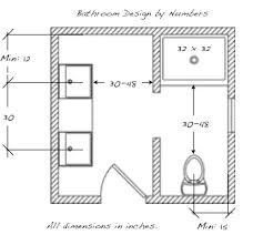 Bathroom Design Dimensions | small bathroom design ideas dimensions best bathroom 2017 regarding