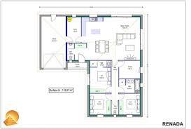 plan maison plain pied 4 chambres avec suite parentale plan de maison antillaise 6 plan maison plain pied 4 chambres