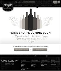 wine luxury website u2014 yes design shop