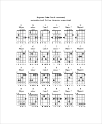 guitar chords note 6 free pdf documents download free