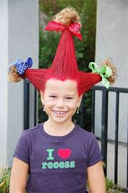 Halloween Costumes Kids Girls 10 50 Crazy Hairstyles Ideas Kids Family Holiday Net Guide