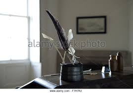 Quill Conference Table Inkwell Desk Stock Photos Inkwell Desk Stock Images Alamy