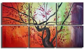 colorful boughs original artwork 50 canvas paintings