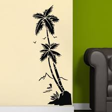 7 patterns quote motto diy vinyl wall sticker mural decals theme coconut tree condition brand new and high quality material pvc quantity 1 pcs size 45x60cm 17 7
