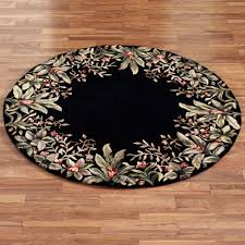 Tropical Area Rugs Island Flora Round Rugs Round Area Rugs Round Kitchen Rugs And