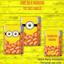 minion tic tacs where to buy 19 best tic tacs images on tic tac food and craft ideas