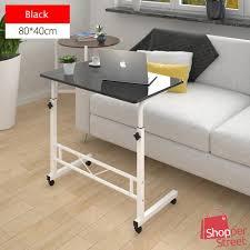 bundle b2002b multipurpose premium side table with adjustable