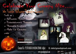 halloween party planner thematic event