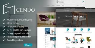 cendo responsive magento furniture theme by pt team themeforest