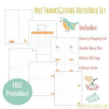 thanksgiving tremendous menu planner image ideas pdf planning
