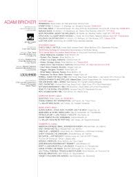 Narrative Resume Resume