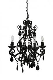Replacement Glass Crystals For Chandeliers Fashion Style 1 Tier Crystal Chandeliers Beautifulhalo Black