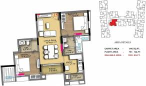 1471 sq ft 3 bhk 3t apartment for sale in radiance realty icon
