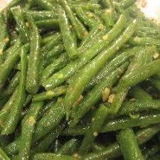 cuisine haricot vert recette haricots verts à l ail et au thym toutes les recettes