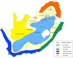 africa map climate zones rural land use south africa