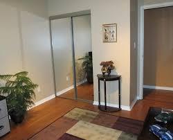Sliding Mirror Closet Doors Lowes by Bypass Closet Doors Menards Roselawnlutheran