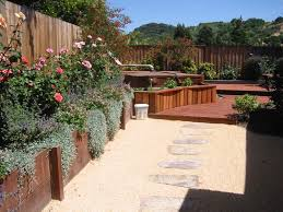 Patio And Walkway Designs by Flooring Interesting Outdoor Garden Design With Cozy Decomposed
