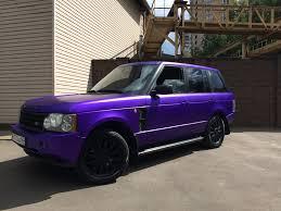 range rover purple оклейка range rover в фиолетовый матовый хром teckwrap u2014 kapauto