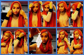 tutorial hijab paris ke pesta 6 langkah tutorial hijab paris untuk pesta