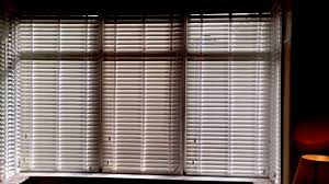 wooden blinds for bay windows youtube