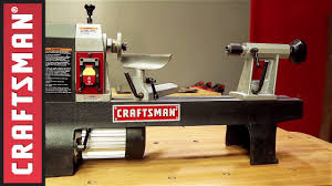 Crafstman by Wood Turning Basics How To Use A Lathe Craftsman Tools Youtube