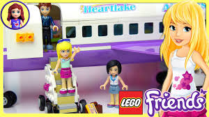 lego friends heartlake city airport set unboxing building review