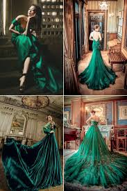 green wedding dress emerald green wedding dresses most conspicuous element of any