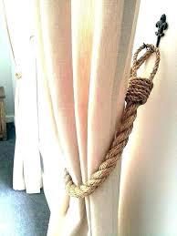 Curtain Tie Backs For Curtain Tie Back Ideas Curtain Rope Tie Backs Tiebacks For