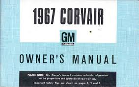 other corvair literature