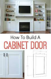 How To Build A Kitchen Cabinet Door Fascinating How To Build A Kitchen Cabinet Door Building Storage