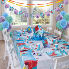 Under The Sea Decoration Ideas Little Mermaid Essential Decorations Idea Party City