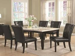 faux marble dining room table set 102771 anisa white faux marble dining table set