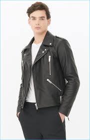 biker jacket men u0027s leather biker jackets fall winter 2016 styles