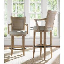 Bar Stool With Arms And Back Home Decor Cozy Counter Stools Swivel With Lexington Home Brands