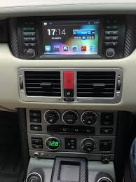 range rover sport dashboard 2002 2006 replacement head unit running android